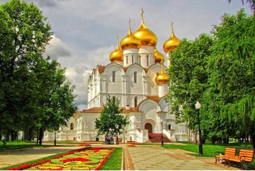 Moscow-Golden Ring-St.Petersburg 8days/7night