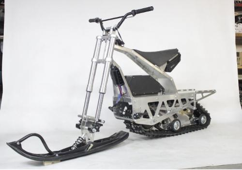 Electric snowmobile «Sniejik Sport»