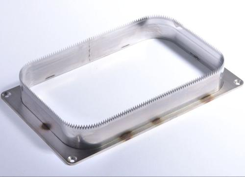 FOIL COVERED FOOD TRAY SEALER KNIVES
