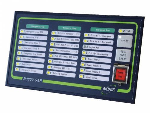 Safety system - N3000-SAP / monitoring / emergency shut-down
