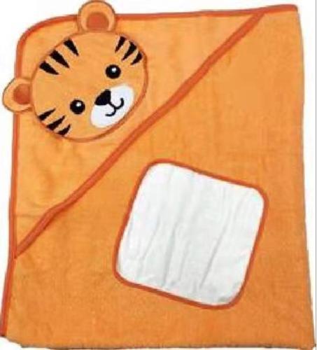 baby hooded towel + glove