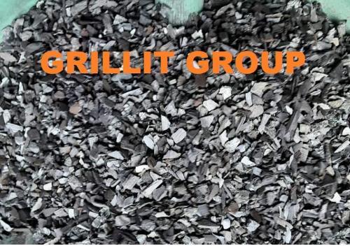 Древесный уголь фракция 5-10мм.