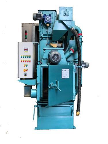 100 KG RUBBER BELT TUMBLAST CLEANING MACHINE