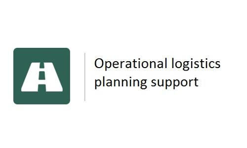 Operational logistics planning support