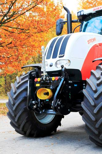 STKVF-Frontsystem f. Case-IH / Steyr / New Holland-Traktoren