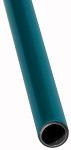Aluminium pipe, blue, Pipe 22x20, PU 10 pcs., Length 3 m