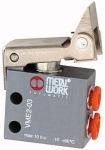 3/2-way mini valve, Mechanical, Roller lever free...
