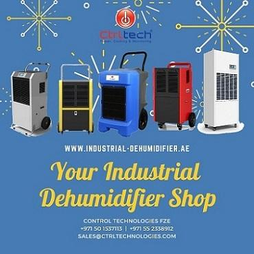 Industrial Dehumidifier. Heavy Duty Dehumidifier.