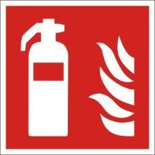 Brandschutzkennzeichnung, Feuerlöscher