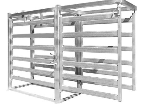 Top quality way draft module with working gate horse panels