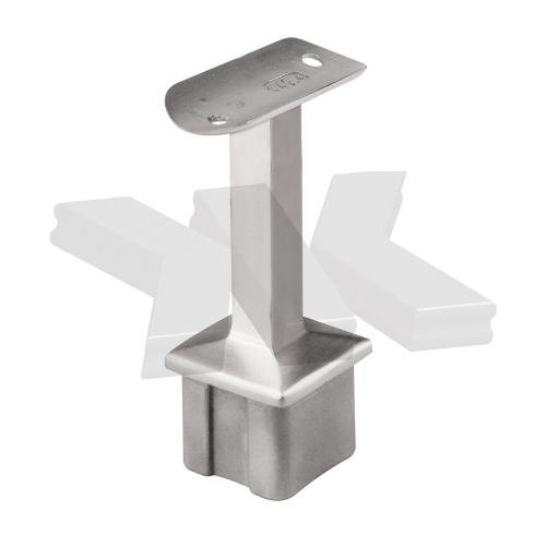 Handrail bracket for post 40x40 mm, rigid