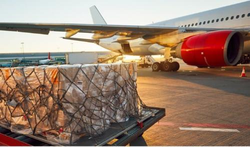 Transporte aéreo de mercancías