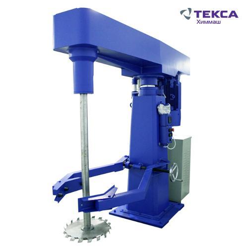 Диссольверы промышленные для смешивания и производства ЛКМ
