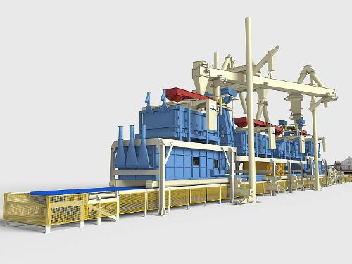 Particleboard Forming Line