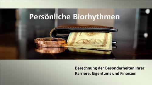 Biorhythmen von Eigentum, Karriere und Finanzen