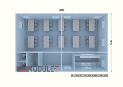 Prefabricated Restaurant Building