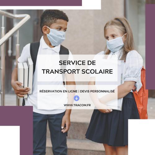 Service de transport scolaire avec tracom sas