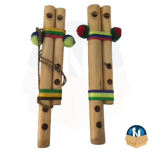 Double reed flute 15 Cm.