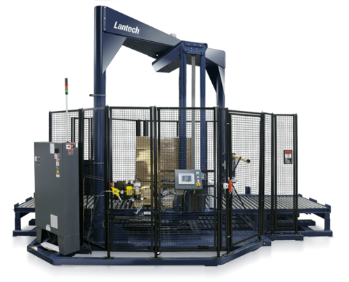 SL Automatic High Speed Straddle Stretch Wrapper