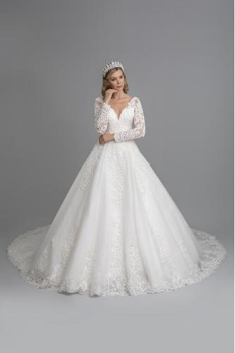 a-line weddingdress