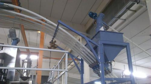 flexilble spiral conveyor