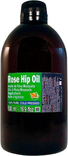 Aceite de Rosa Mosqueta 100% Puro. Botella 500ml