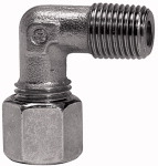 Angled screw-in fitting, R 3/4 o., Pipe exterior 22 mm