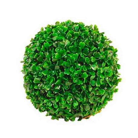 Plante Artificielle Buis Vert Boule