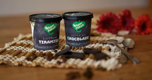 Vegan Ice Cream Tiramisu