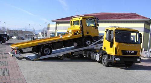 Carro attrezzi Eurocargo 120EL21P pianale girevole.