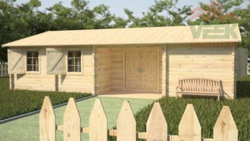 Casa de madera maciza Taca