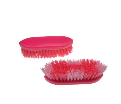 Daily soft grip body brush for horse/cattle