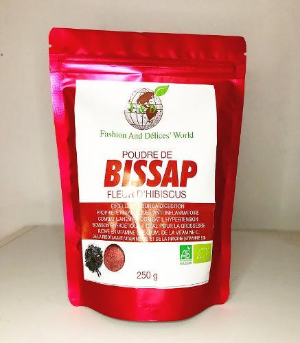 Poudre De Bissap (fleur D'hibiscus)