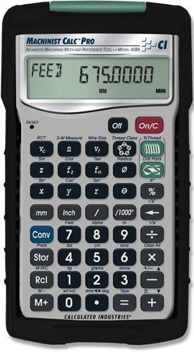Machinist Calc Pro - Rechner Werkzeugbau