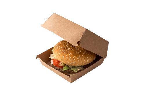 Packaging for burgers «Pure Kraft»