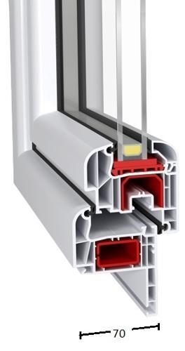 Renovo Id 4000-70 (PVC Windows - Aluplast)