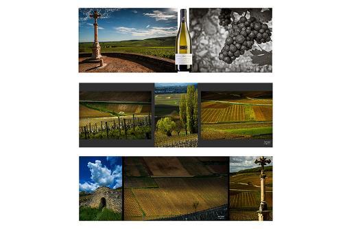 3 exemplaires de créations panoramiques