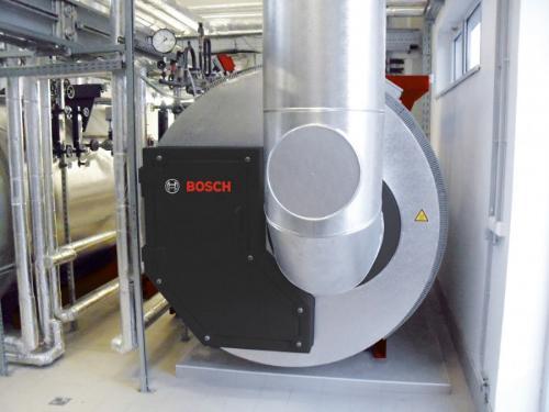 Bosch Caldera de recuperación con quemador propio