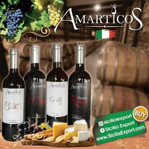 Vinos AMARTICOS IGP SICILIA Italia