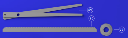 BLADES FOR POWDER POUCHS AND DESINFECTANT WIPES CUTTING
