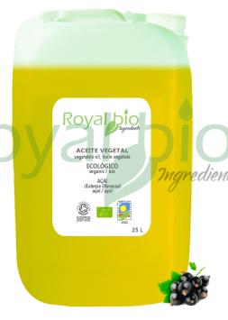 Organic Açai Vegetable Oil