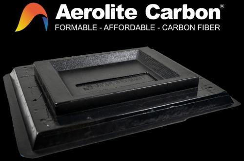 Aerolite Carbon: lastra in fibra di carbonio termoformabile