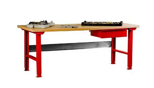 Metal workshop table