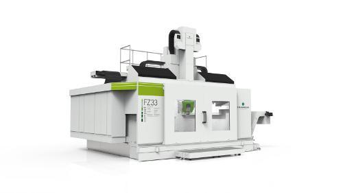 Портальный фрезерный станок компактной компоновки типа FZ33