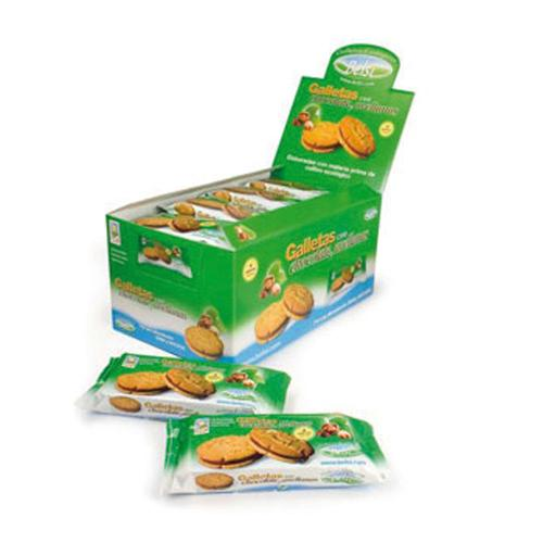 Eko Cookies Filled With Chocolate And Peanuts