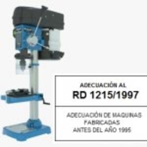 Adecuación de Máquinas al RD 1215
