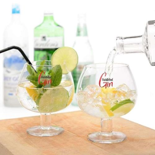 FishBowl Gin Glasses (Set of 2) (600ml)