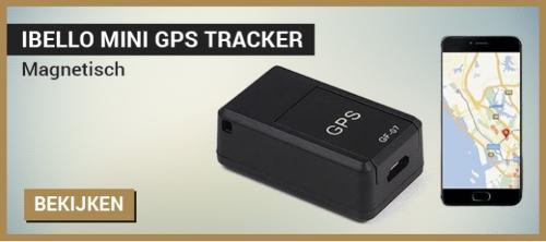 iBello mini magnetische GPS tracker