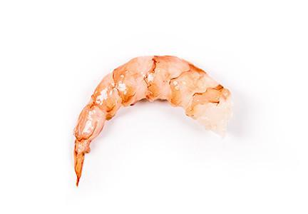 Crevettes sauvages d'Argentine décortiquées, déveinées