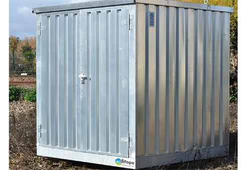 Bungalow de stockage 2 m x 2 m - Bungalow isolé -...